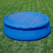 6/8/10FT Round Swimming Pool Cover Cloth Garden Outdoor Paddling Family Pools