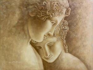 "Fine Art Original Oil Painting On Canvas 36"" x 48"""