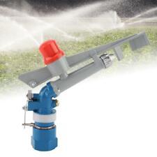 1'' Irrigation Spray Gun Sprinkler Gun Large 360° Adjustable Impact Area Water