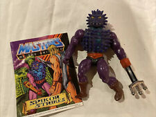 MOTU Spikor Masters of the Universe He-Man 1980?s With Comic