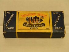 LESNEY MATCHBOX #1 ACCESSORY PACK,BOX ONLY