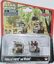 Disney PIXAR Cars STAR WARS PITTIES as LOGRAY and WICKET diecast Ewoks ROTJ 2015
