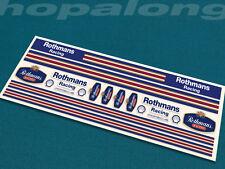 Scalextric / Slot Car 1 / 32ede échelle peel & bâton stickers ds203.