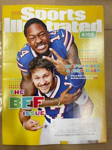 Sept/Oct 2021 Josh Allen Stefon Diggs Buffalo Bills Sports Illustrated For Kids