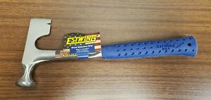 Estwing E3-11 11oz Round Milled Face Forged Drywall Hammer w/ Vinyl Grip New