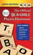 NEW The Official Scrabble Players Dictionary, Sixth Edition By Merriam-Webster