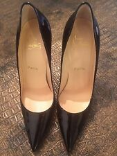 Christian Louboutin So Kate 120mm Patent Leather Point-toe Pumps Size 37.5 / 7.5