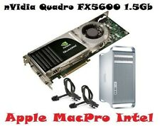 nVidia Quadro FX5600 1.5Gb Video Card PCIe CUDA * Apple MacPro 3/4/5,1 EFI64