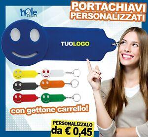 Portachiavi personalizzati con Gettone per Carrello Gadget Promozionali Aziende