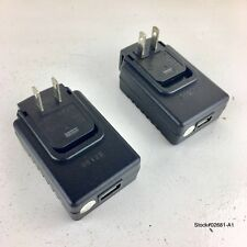 (2) Genuine KODAK TESA5G1-0501200 USB AC ADAPTER 100-240V 5V=1A Wall Charger.