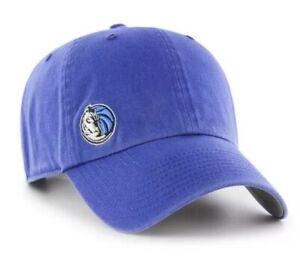 NWT NBA DALLAS MAVERICKS SUSPENSE '47 BRAND CLEAN UP - OSF ADJ. BLUE HAT CAP