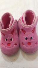 Ciabatte o Pantofole - colore rosa con disegno - N° 20 - tessile e altre materie