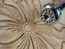 Leather Stamping Tool - PJ040 12-Seed Flower Center Stamp