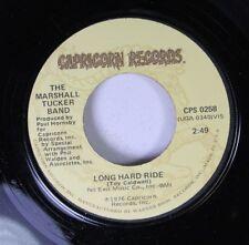Rock Unplayed 45 The Marshall Tucker Band - Long Hard Ride / Windy City Blues On