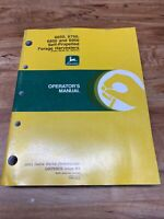 John Deere 6650 6750 6950 6950 Self-Propelled Harvesters, Operator's Manual