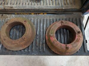 FORD TRACTOR WHEEL WEIGHT ( PAIR )