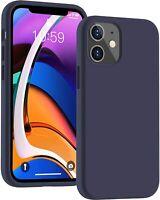 Coque Silicone Antichoc Protection iPhone 12 Mini 12 Pro Max 6/7/8/XR/XS 11 SE