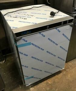 Commercial Freezer Undercounter Stainless steel 129 litres Single door
