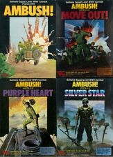 Avalon Hill Ambush Move Out Purple Heart Silver Star PDF Reference Disc Free P+P