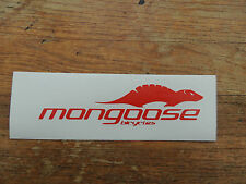 """MONGOOSE biciclette"" Logo Adesivo/Transfer/Bmx/Ciclismo/Mountain Bike"
