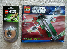 LEGO Star Wars Brickmaster - Boba Fett Slave I 20019 & Magnet Set 850643 - New
