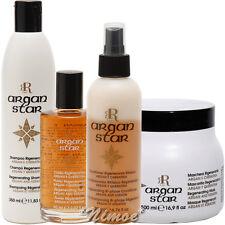 Argan Star Kit Shampoo + Mask + Regenerating Fluid + Bi-phase Cond. RR Line ®