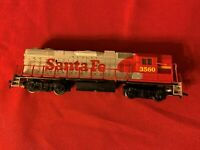 HO LIFELIKE SANTA FE GP DIESEL LOCOMOTIVE # 3560