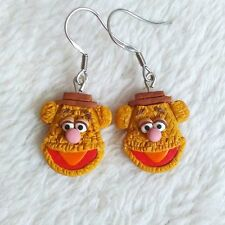 Funny Fozzie Bear The Sesame Street Birthday Gifts for Girls Earrings Jewelry