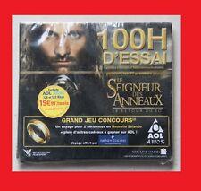 KIT CONNEXION AOL INTERNET LE SEIGNEUR DES ANNEAUX RETOUR DU ROI CD CDROM FROLON