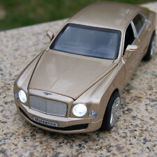 Bentley Mulsanne Model Cars Toys 1:32 Sound&Light Collection&Gifts Alloy Diecast