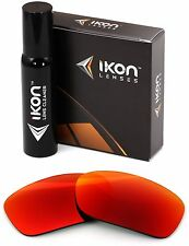 Polarized IKON Iridium Replacement Lenses For Oakley Fives Squared + Red Mirror