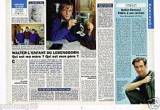 Coupure de presse Clipping 1994 (1 page 1/2) Walter enfant du Lebensborn