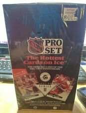 1991-92 Pro Set Series 2 Hockey Card Box Sealed