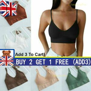 Women Fitness padded Stretch Seamless Sports Bra Bralette Yoga underwear Tops+