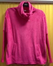 Ladies size 12 M&S Fitness Collection Stunning Pink Breathable Fleece BNWT