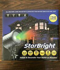 StarBright Laser Light Projector, Waterproof, 4 Laser Modes, 600ft Range, Tripod