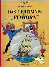 """Tim und Struppi Das Geheimnis der """"Einhorn"""" - CARLSEN COMIC-ALBUM von 1972 Hergé"""