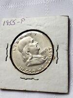 1955 Franklin Half Dollar * GEM * BETTER KEY DATE * Collector piece!
