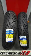 Coppia gomme Scooter Michelin City Grip 110/70/16 + 150/70/14 piaggio X9 500