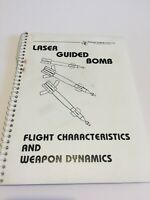 RARE LASER GUIDED BOMB Weapon Dynamics Manual - Texas Instruments PAVEWAY LGBs