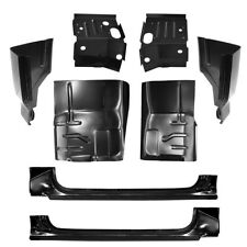 80-96 Ford Rockers, Cab Corners, Floor Pans & Cab Mount KIT F150 F250 F350 Truck