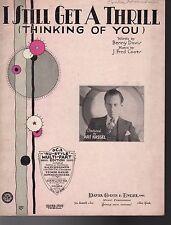 I Still Get A Thrill Thinking Of You Sheet Music 1930   Art Kassel