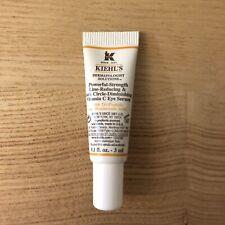 NEW! Kiehl's Line Reducing Dark Circle Vitamin C Eye Serum .1 Oz Travel Size