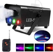 AONCO 500W Fog Machine LED Lights Wireless Remote Control Wedding Party Disco DJ