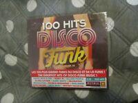 """COFFRET 5 CD DIGIPACK NEUF """"100 HITS DISCO FUNK"""""""