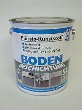 (6,99€/L.)BETONBESCHICHTUNG FLÜSSIG-KUNSTSTOFF  RAL 7032 KISELGRAU  5 L.