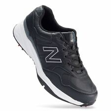 New Balance 1701 Men's Golf Shoes Size 9 4EE Extra Wide Black  New in box!