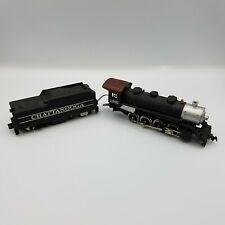 HO Scale Tyco 0-8-0 Steam Locomotive #1261 With Chattanooga Tender Untested