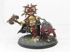 Mighty signore di Khorne korghos khul-DIPINTI WARHAMMER AOS lame di KHORNE army