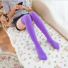 Girls Ladies Thigh High OVER KNEE Women Candy Color Socks Long Stockings HOTSALE